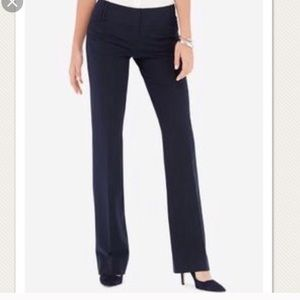 The Limited Cassidy navy blue dress pants